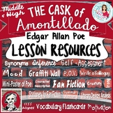 Edgar Allan Poe | The Cask of Amontillado Lessons