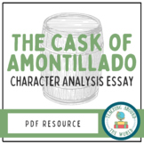 The Cask of Amontillado Character Analysis Essay