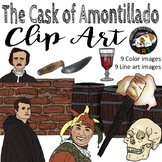 The Cask of Amontillado Edgar Allan Poe Clip Art