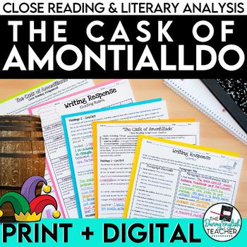 Cask of Amontillado Close Reading Assignment
