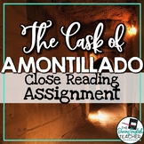 Cask of Amontillado Close Reading Assignment