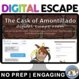 Edgar Allan Poe The Cask of Amontillado Digital Lock Box Escape Room Game