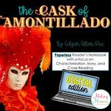 The Cask of Amontillado Digital Reader's Notebook (Paperle