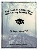 The Cask of Amontillado Edgar Allan Poe Lesson Plan, Worksheets, Key