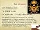 The Cask of Amontillado - Edgar Allen Poe - 15 Critical Vocabulary Words