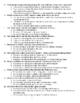 The Cask of Amontillado Multiple Choice Test
