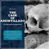 The Cask of Amontillado - Poe - Vocabulary Worksheet - CCS