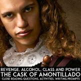 """""""The Cask of Amontillado"""" Edgar Allan Poe Point of View Activities, Homework"""