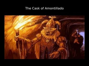 The Cask of Amontillado PowerPoint