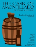 The Cask of Amontillado Reading Questions and Activities