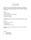 The Cask of Amontillado Sentence Combining Exercises