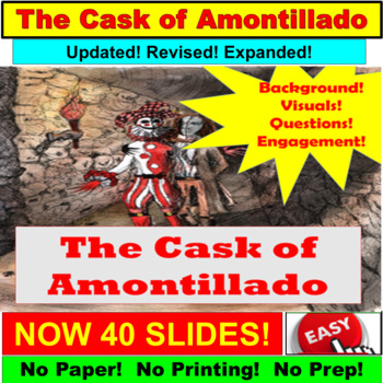 The Cask of Amontillado Short Story Power Point by PowerPoint Guru ...