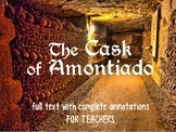 The Cask of Amontillado - TEACHER COPY with ANNOTATIONS and Vocab