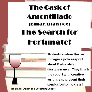 the literary techniques used in the cask of amontillado by edgar allan poe Use these examples of symbolism and irony in the cask of amontillado by edgar allan poe to enhance your literary knowledge review this analysis before a test or to.