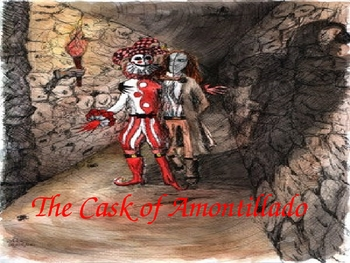 The Cask of Amontillado and Masque of the Red Death Powerpoint Pair