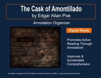 """Cask of Amontillado"" by Edgar Allan Poe: Annotation Organizer"