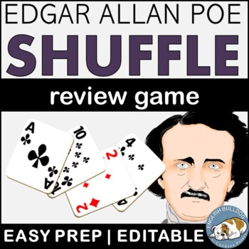 """""""The Cask of Amontillado"""": Poe Shuffle Review Game"""