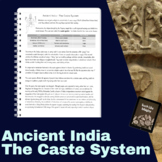 The Caste System and Mohandas Gandhi Reading Passage and Guided Notes