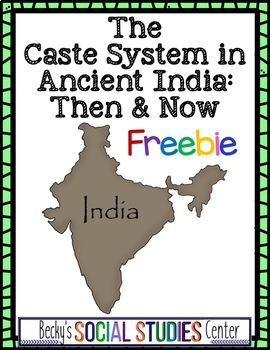 The Caste System in Ancient India - Then and Now