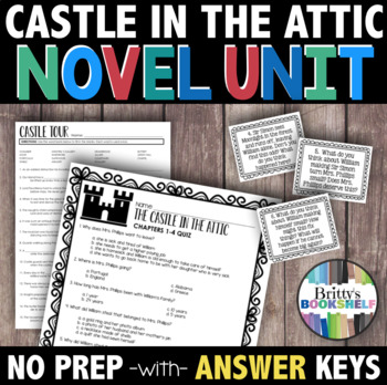 The Castle in the Attic Novel Study - A Literature Unit