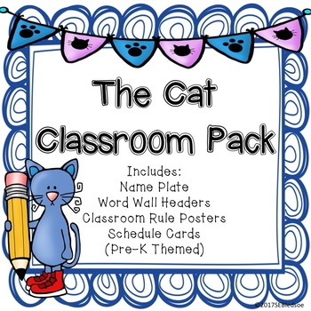 The Cat Classroom Pack