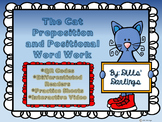 The Cat Preposition and Positional QR codes Word Work