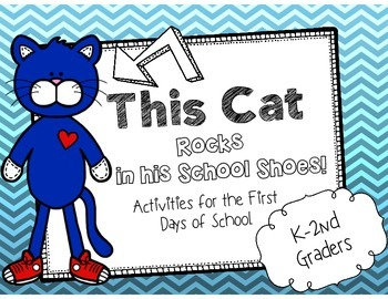 The Cat Rocking in his School Shoes {Activities for the First Days of School}
