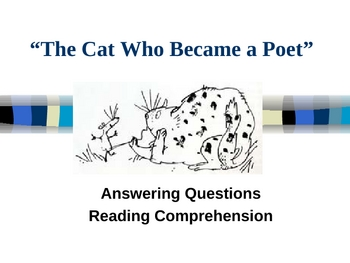 """""""The Cat Who Became a Poet"""" - Open Court - Answering Questions"""