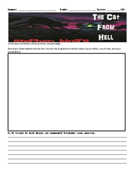 The Cat from Hell by Stephen King Assignment