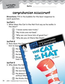 The Cat in the Hat Comprehension Assessment