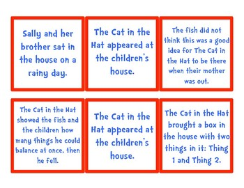 The Cat in the Hat Sequencing for Read Across America