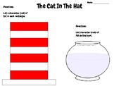 The Cat in the Hat - Writing Activity (Dr. Seuss) Read Across America