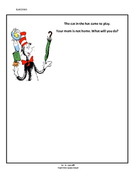 The Cat in the Hat responsive writing