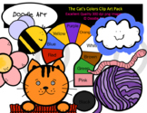 The Cat's Colors Clip Art Pack