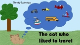 The Cat who liked to travel Storybook