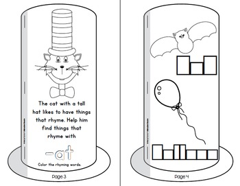 The Cat with the Tall Hat Interactive Reader Bundle