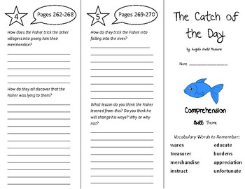 The Catch of the Day Trifold - Treasures 5th Grade Unit 3 Week 1 (2011)
