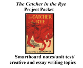 The Catcher in the Rye Activity Packet