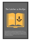 The Catcher in the Rye Anchor Activities