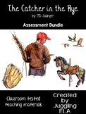 The Catcher in the Rye Assessment Bundle