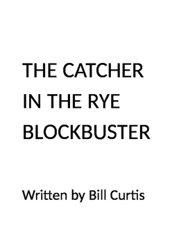 The Catcher in the Rye Blockbuster