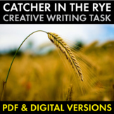 Catcher in the Rye, Holden Caulfield Voice, Creative Writing, PDF & Google Drive