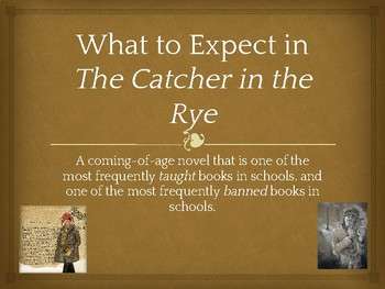 The Catcher in the Rye - Introduction to the Novel