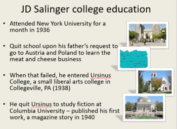 The Catcher in the Rye - Introductory Presentation