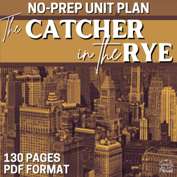 Catcher in the Rye Literature Guide: Common Core Teaching Guide, Complete Unit