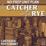 Catcher in the Rye Literature Guide, Teaching Guide PACKET   DISTANCE LEARNING