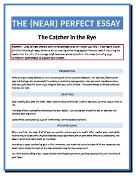 Essay topics for catcher in the rye