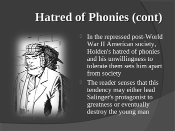 The Catcher in the Rye PowerPoint - Themes