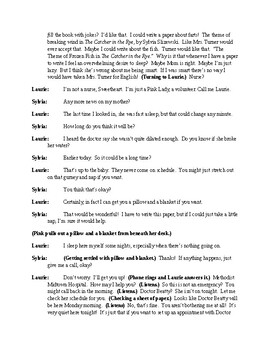 The Catcher in the Rye Reborn - One Act Comedy