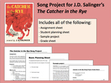 The Catcher in the Rye Song Project (MS Word)
